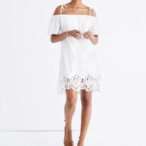 NEW Madewell lace eyelet dress Alexa chung JCrew